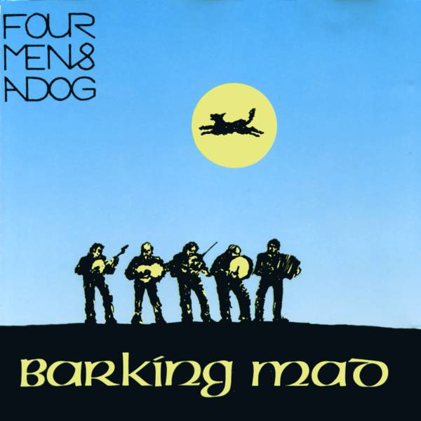 Mad Dogs Logo Barking Mad Four Men And a Dog