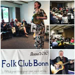 Daria Kulesh at Folk Club Bonn on 4 May 2018; photo Daria Kulesh / Folk Club Bonn