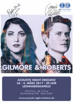 Gilmore & Roberts at Acoustic Night Erkelenz on 4 March 2017