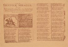 John Goodluck: The Suffolk Miracle (1711 broadside, inlay from John Goodluck's album)