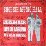 John Roberts & Tony Barrand: An Evening at the English Music Hall (Front Hall FHR-030)