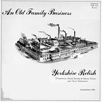 Yorkshire Relish: An Old Family Business (Traditional Sound TSR 034)