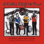 Nowell Sing We Clear: Nowell Sing We Four (Golden Hind GHM-201)