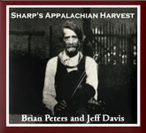 Brian Peters and Jeff Davis: Sharp's Appalachian Harvest (Pugwash PUG CD 009)