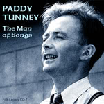 Paddy Tunney: The Man of Songs (Folk-Legacy CD-7)