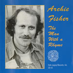 Archie Fisher: The Man With a Rhyme (Folk-Legacy CD-61)