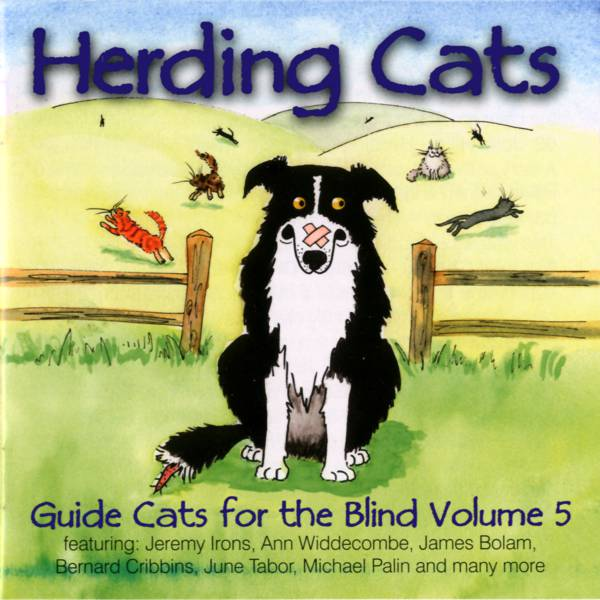 Guide cats for the blind les barker youtube.