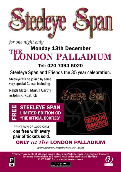 Steeleye Span: The 35th Anniversary World Tour 2004